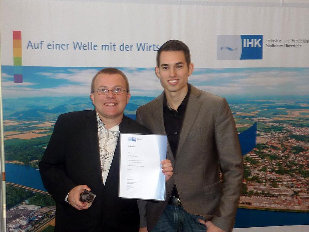 Preisverleihung IHK Südlicher Oberrhein