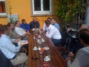 Mittagsrunde mit Fermacell und Pavatex