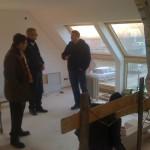 Christian Philipps im Gespräch mit dem Marketingchef von Wienerberger