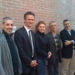 atoren in Imola GF TBZ, GF SHI, Gülnaz Attila und GF Wienerberger IT