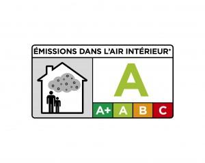 Logo VOC-Bewertung von Bauprodukten in Frankreich