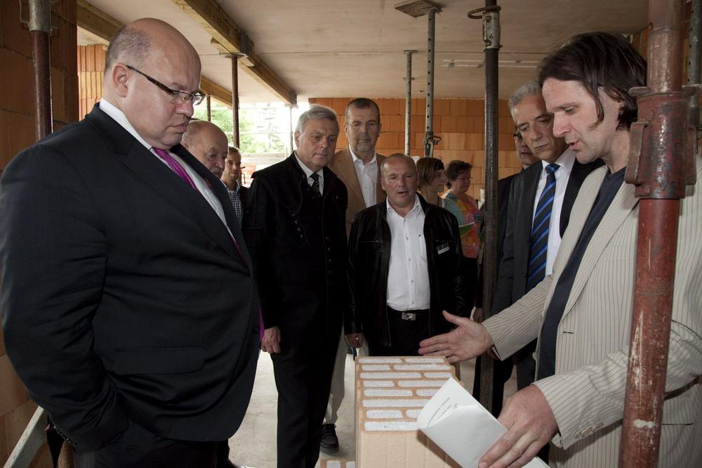 12.6.13 in Freiberg Altmaier, Tillich, Leukefeld am gefüllten Ziegel Bildquelle HELMA