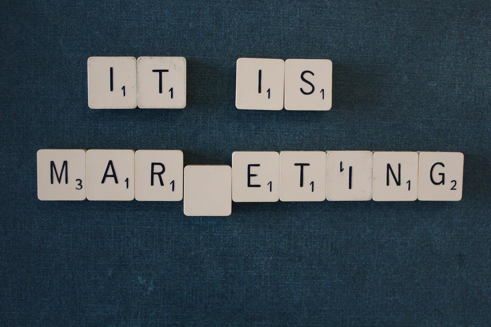 It is Marketing!